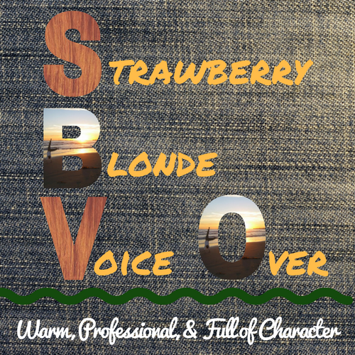 Strawberry Blonde Voice Over: Warm, Professional, & Full of Character!  Character voices for audiobook narration, Elearning, and animation.