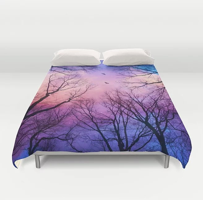 Duvet cover art by Soaring Anchor Designs