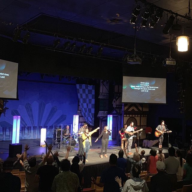 Yesterday was amazing!!!! We loved every part of our new home and hope you did too!! If you missed us yesterday, we hope to see you this Sunday!!!! ________________________  8am & 10am  Diamond Head Theatre