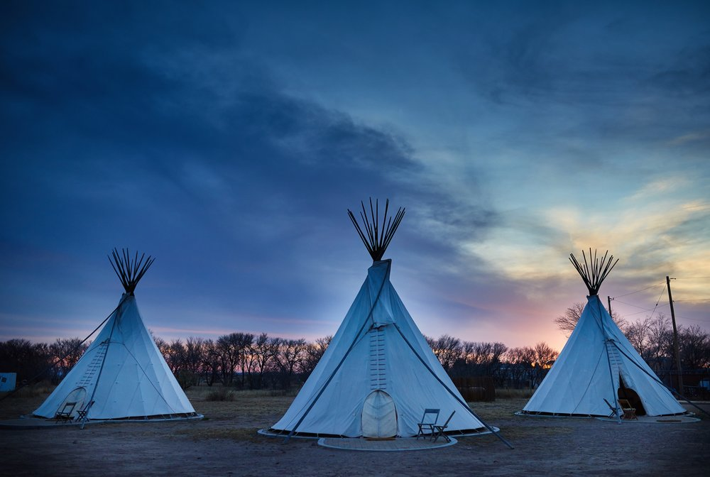 El Cosmico - Teepees Sunset - Nick Simonite.jpg
