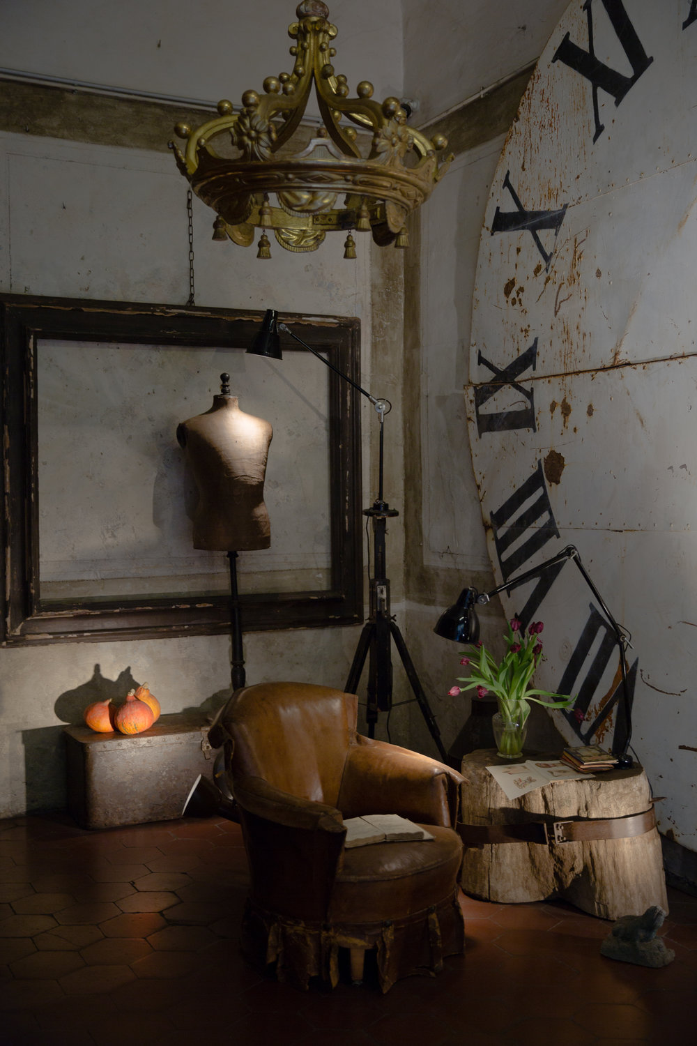 One of the vintage shops in Santo Sppirito