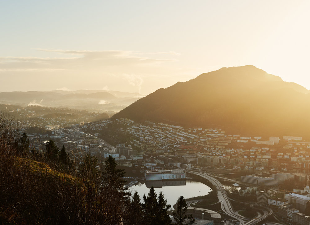 Sentrum, Bergen, Norway via  Kinfolk Magazine