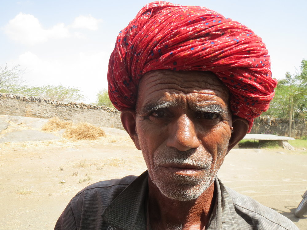 Anada Singh, in Daulatpura, Ajmer, whose Aadhaar authentication does not work reliably.