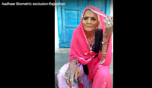 'I cannot get pensions in village after Aadhaar introduced'