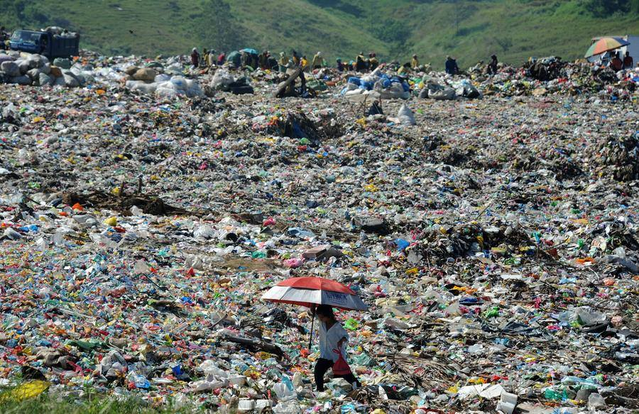 The city landfill of Cagayan De Oro