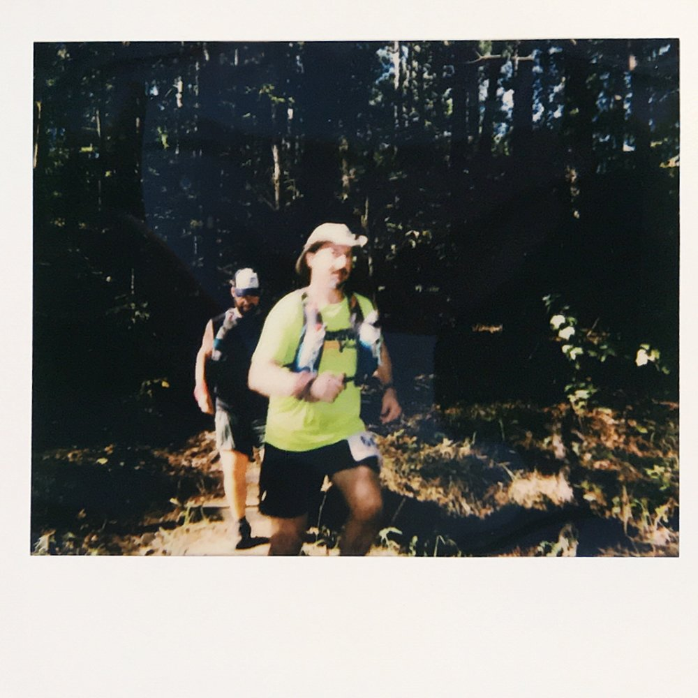 Coming off the Ouachita Trail