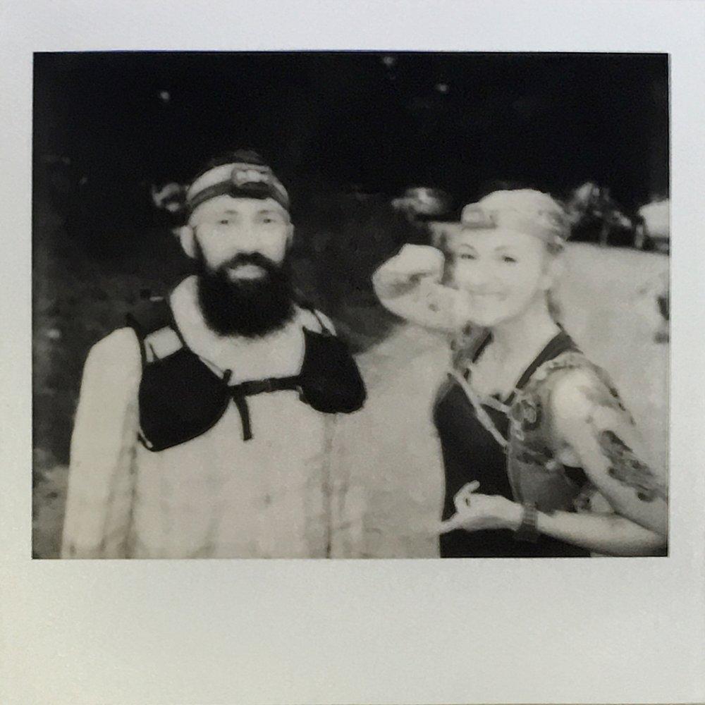 Kurt with his pacer, Kristin