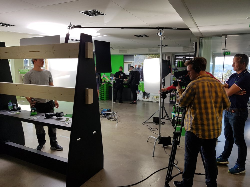 Behind the scenes - ESSVE videoproduksjon