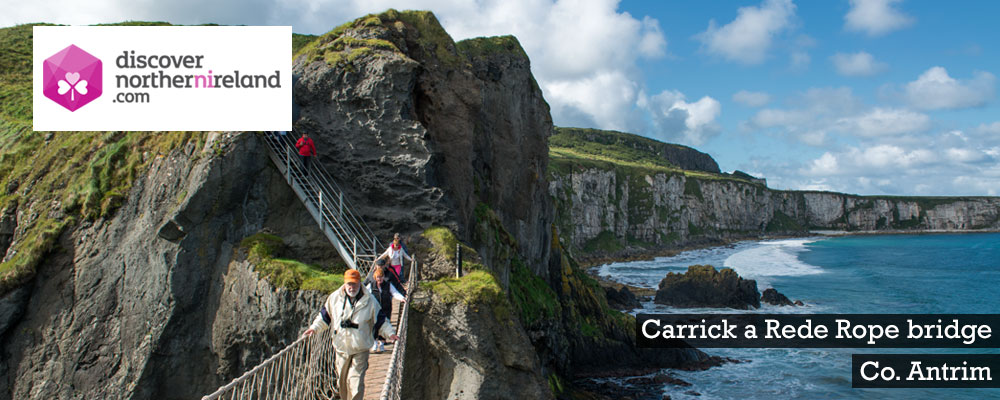 Carrick a Rede Rope Bridge, Co. Antrim