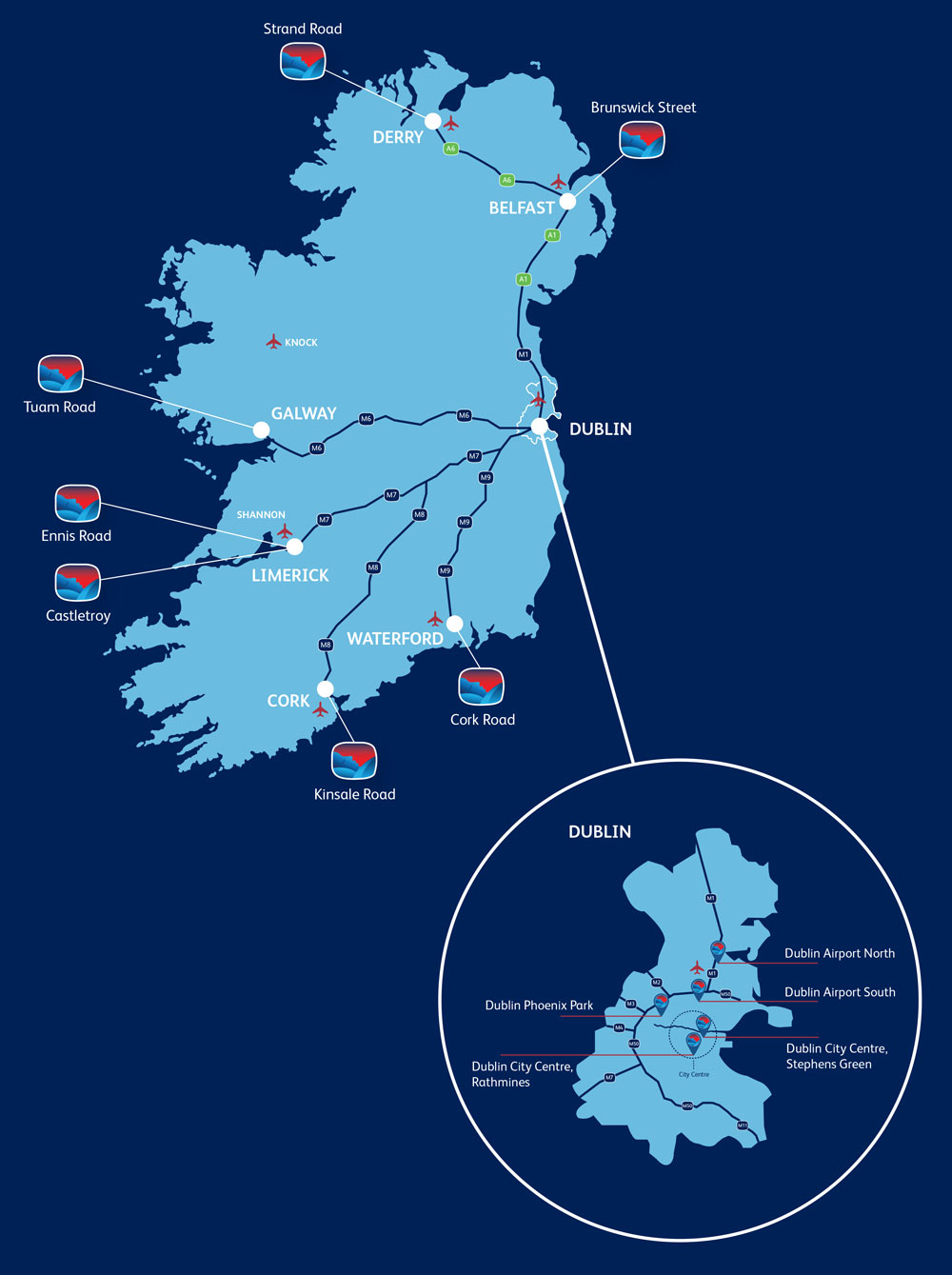 Travelodge Locations