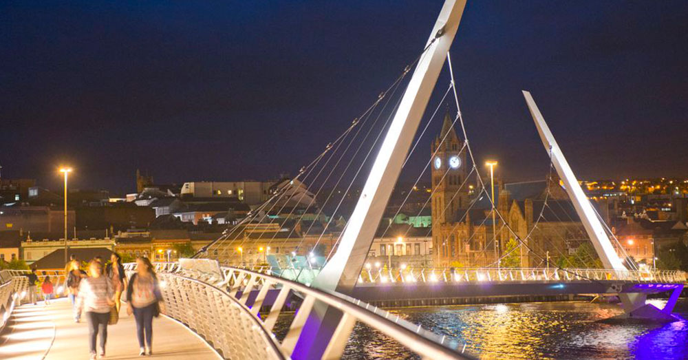 Derry/Londonderry Peace Bridge