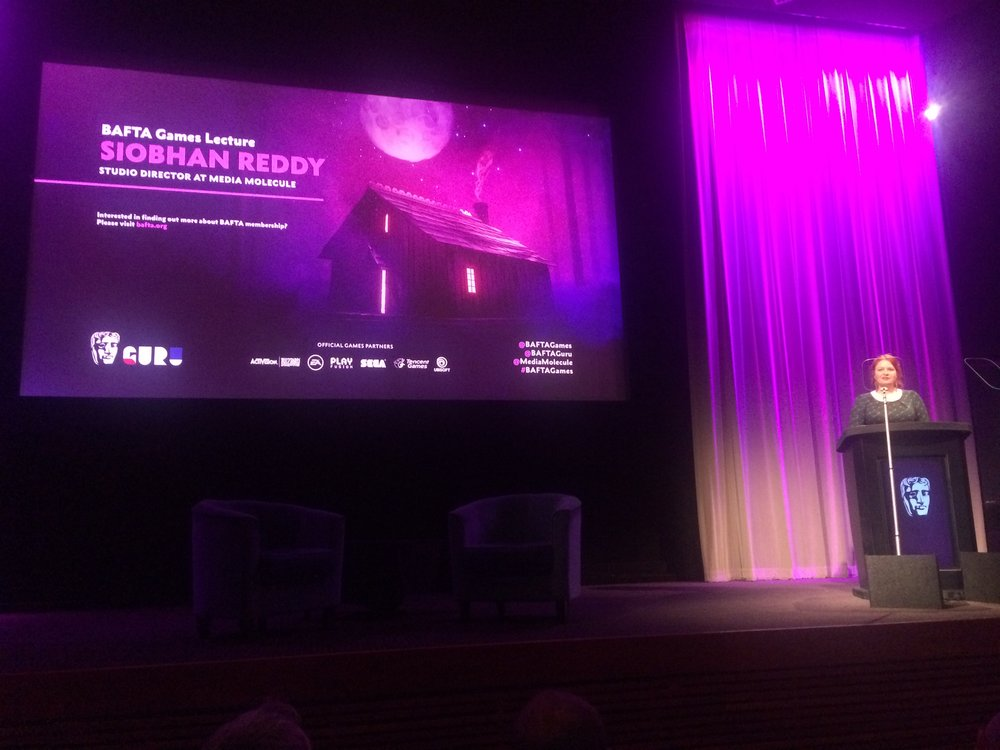Sionhan Reddy's excellent Games Lecture at BAFTA