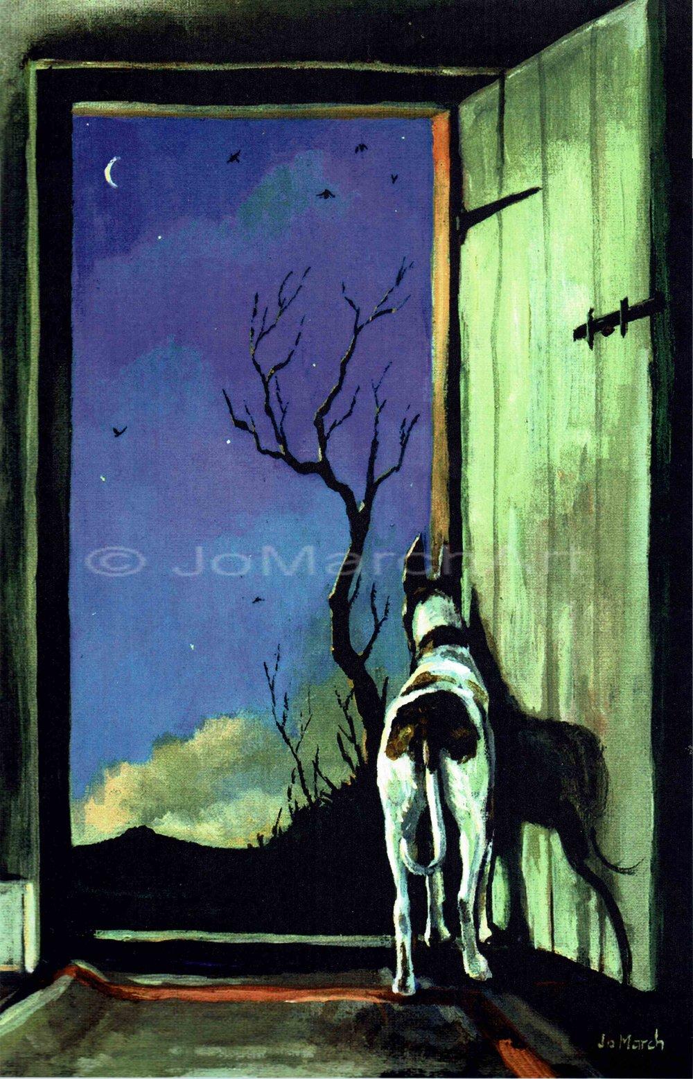 Walter At The Door