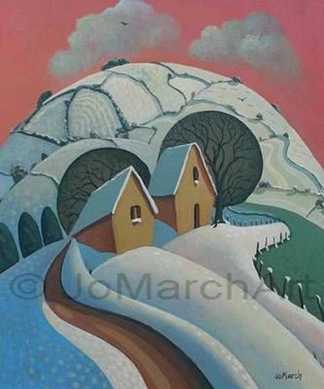 Tredinnick Barns, January