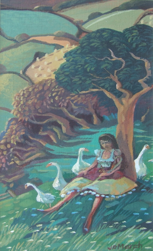 Goose Girl [iteration]