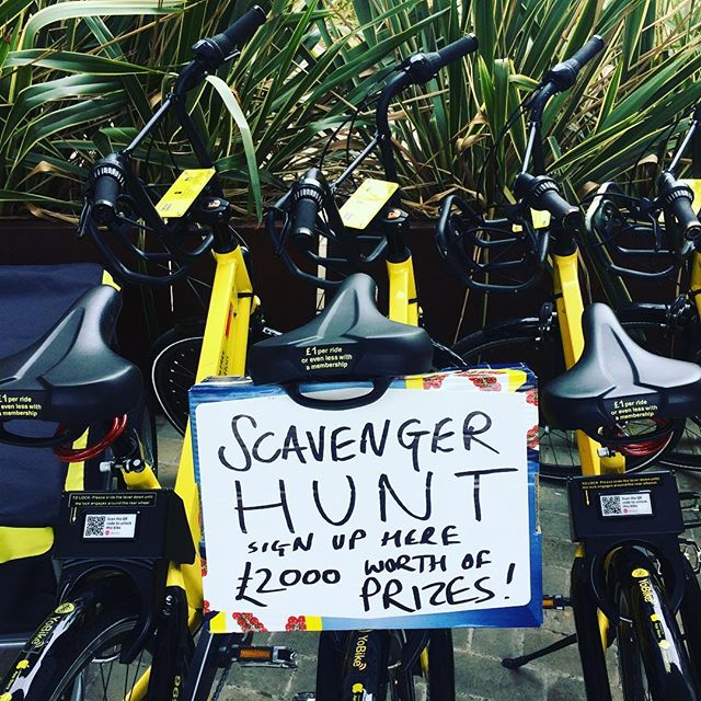 #unbelievable #prizes for the @rideculture_pedal @yobikeuk #scavengerhunt