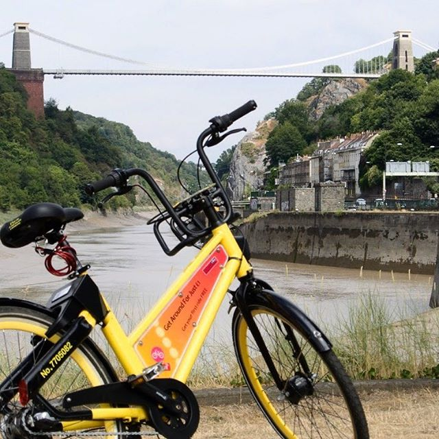 The #summer has been very good. It's fading fast so get #onyobike before it's gone. This #beautiful view is just too good to miss. #mostphotogenicbristol #bristol #cliftonsuspensionbridge #clifton #createcentrebristol #ridecheap #sharebike
