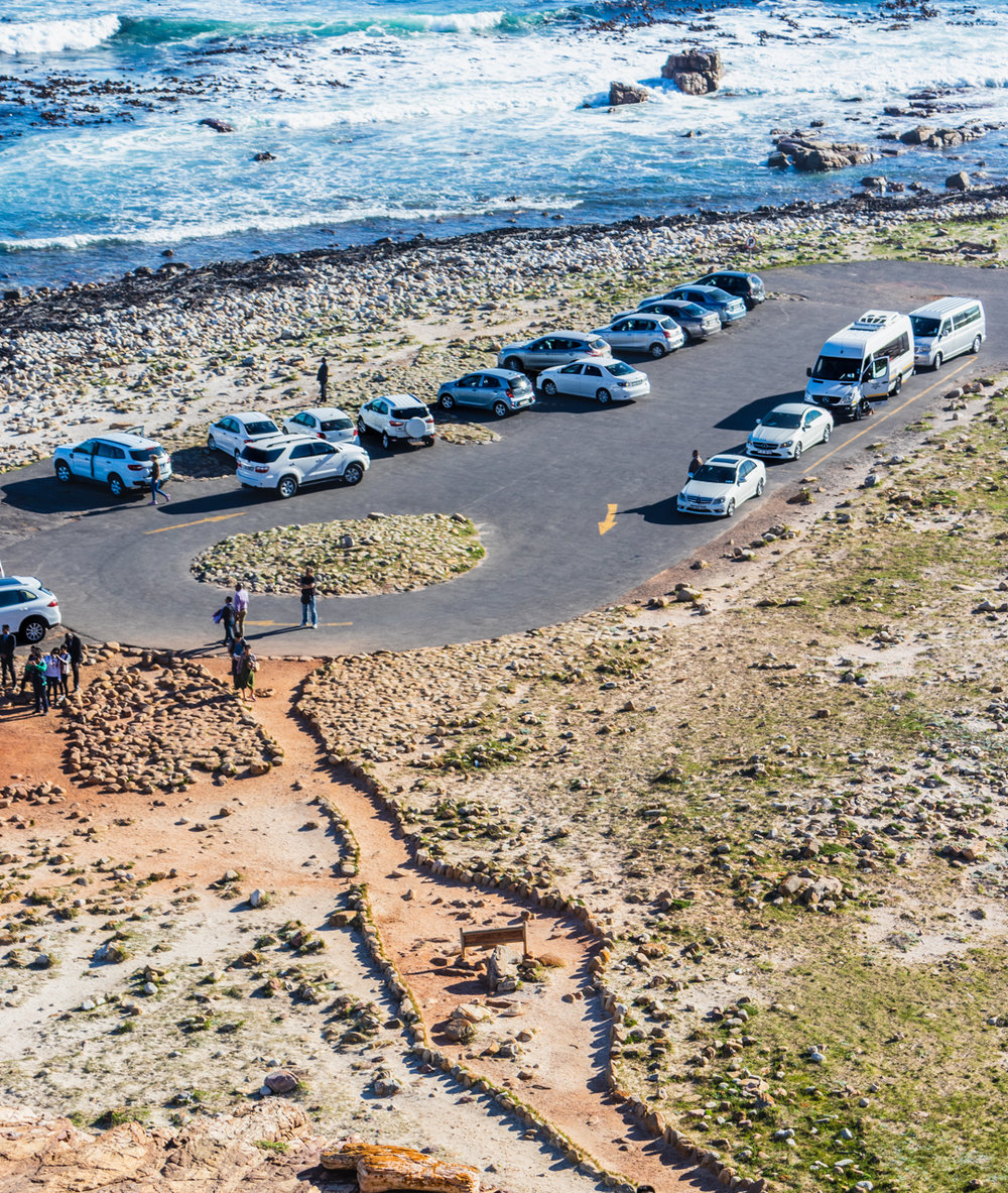 Visitors to the Cape of Good Hope