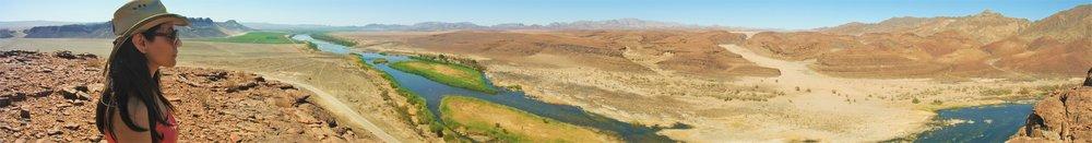 2016 - View of the Orange River near Noordoewer, Namibia