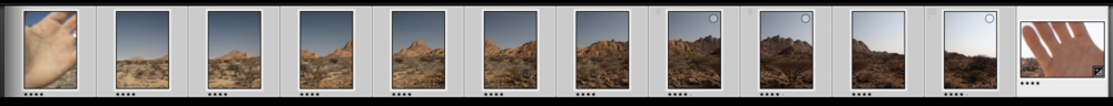 """Book-ending"" your sequences can be especially useful when it comes to editing and stitching your images later on."