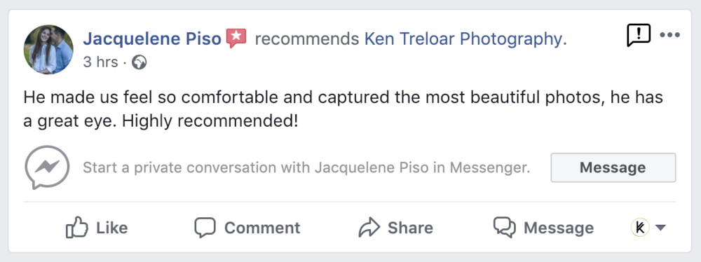 Review - Couples Photo Session - Ken Treloar Photography.png
