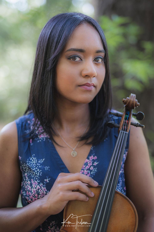 Portrait Violin Ken Treloar Photography