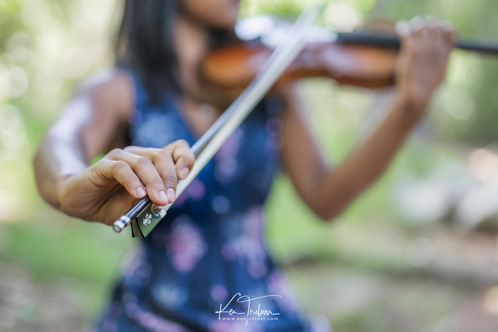 Ken Treloar Photography - Dec 2018 - Violin Woodland Forest Natural Light Portrait Photography - Cape Town-8.jpg