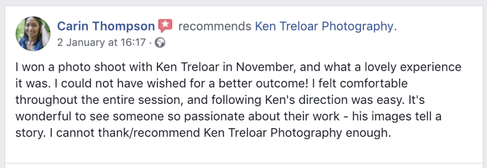 Testimonial Review Competition Winner - Ken Treloar Photography.png