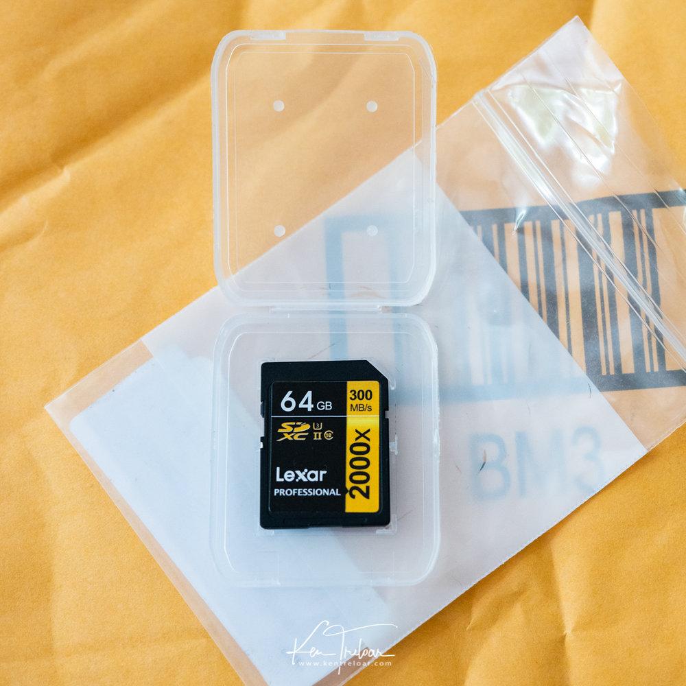 Fake Memory Card