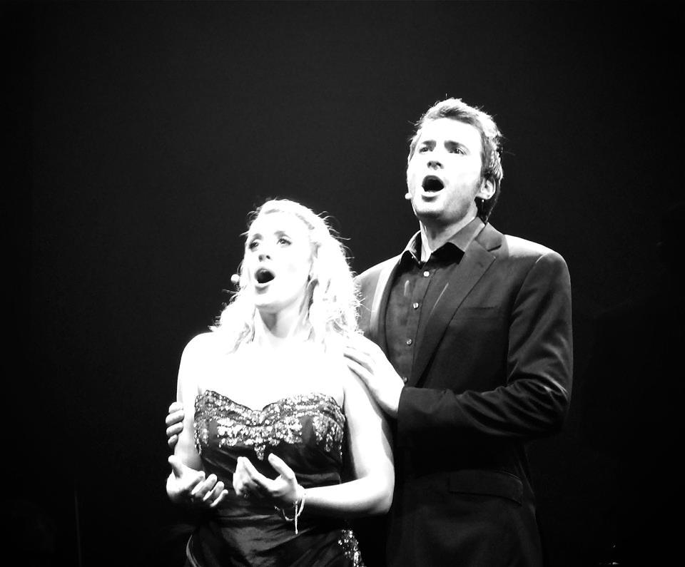 The sublime soprano Holly-Anna Lloyd and the incredible tenor Nathan Pacheco (whose first sacred songs album, Higher, which was released in February 2017 and was ranked #1 on Billboard for best classical and classical/crossover album).