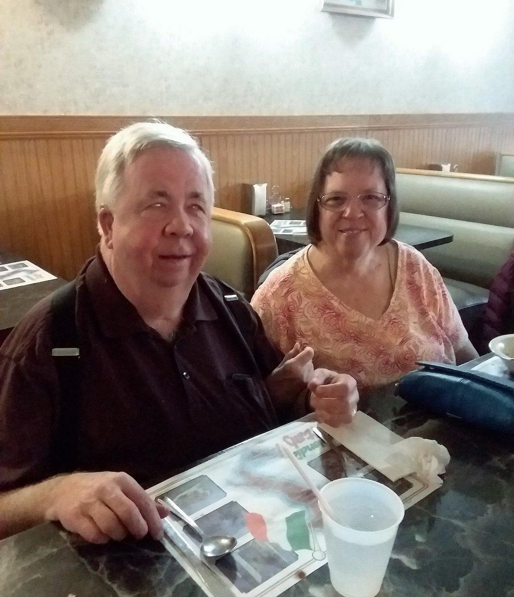 Our own Hap Holly (KC9RP), and his wife Stephanie (KA9WKD)
