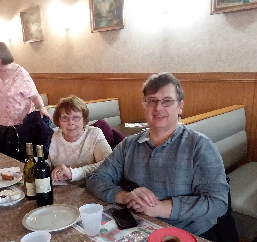 Friend of The 220 MHz Good Guys and Gals ARC, Jim WG9J, and his Mother, Bernie