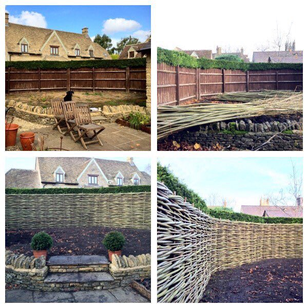 Bespoke Willow Fencing