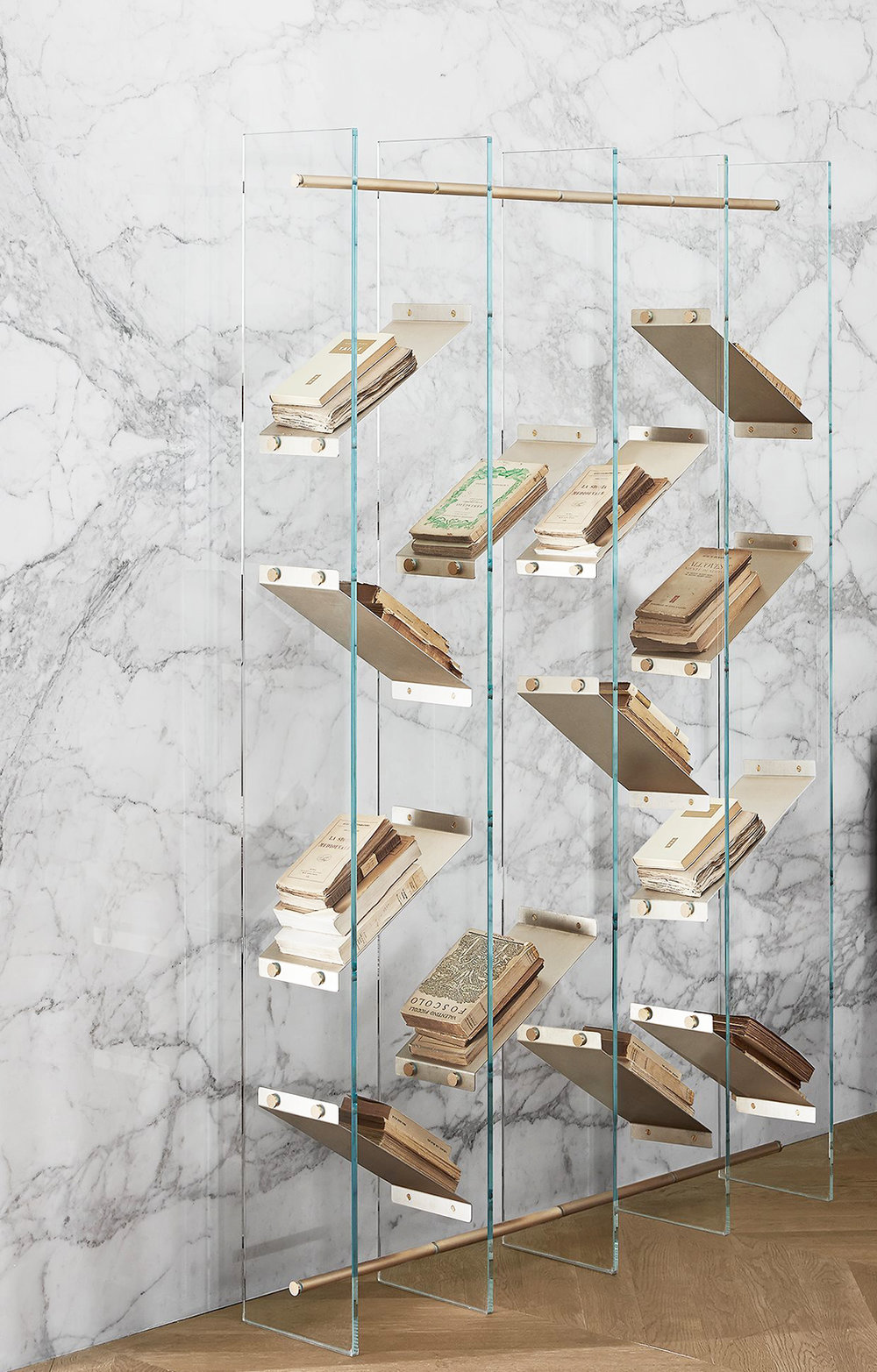 Isola Shelving System From GallottiRadice Which Just Won The Wallpaper Design Award