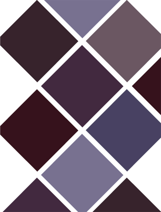 Purple color chart