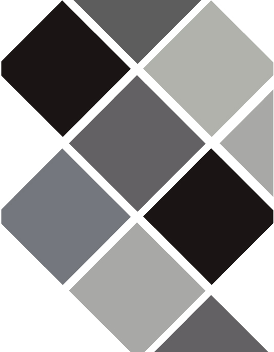 b&w-grey color chart