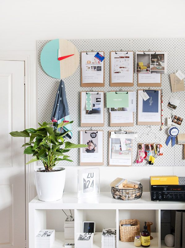 14 creative ideas for pegboard decor8