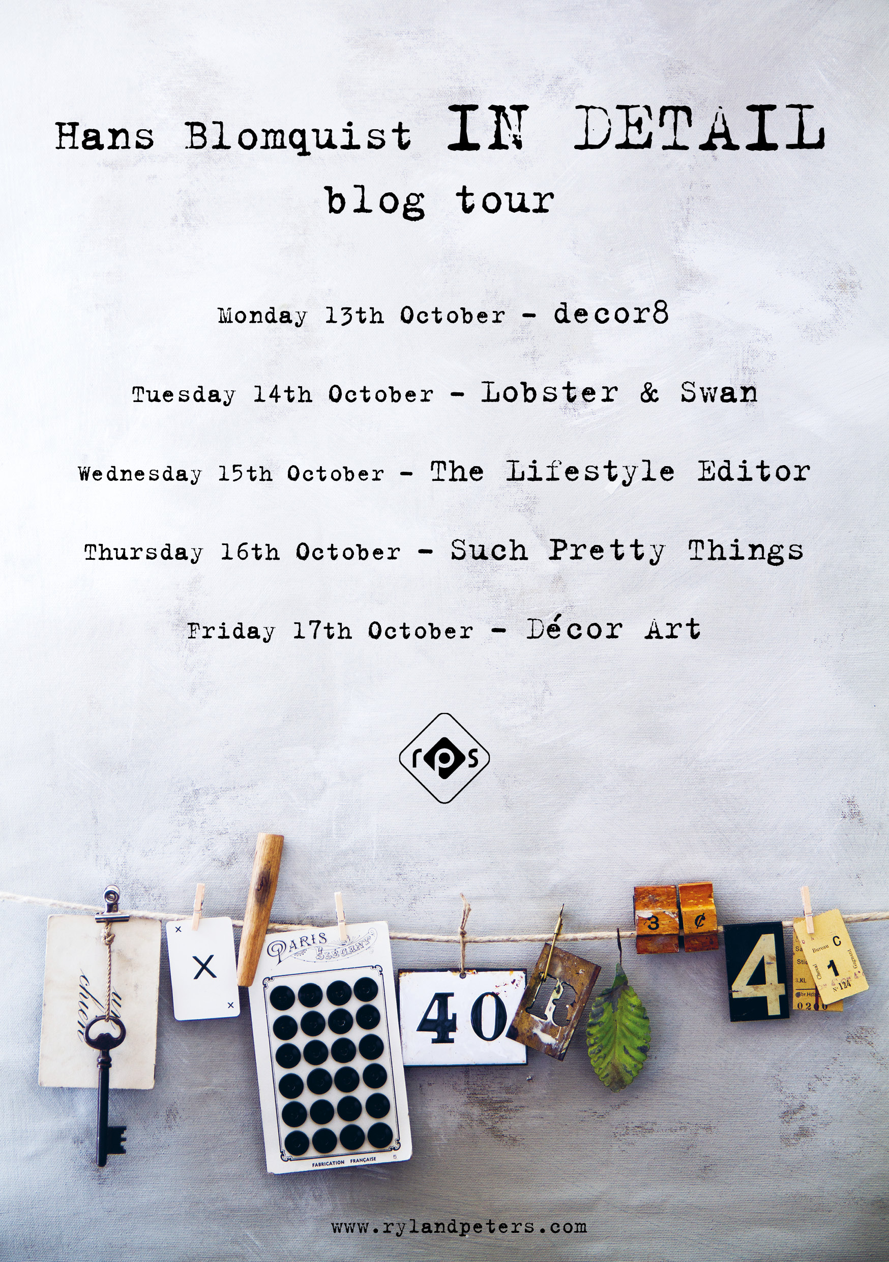 In Detail blog tour poster