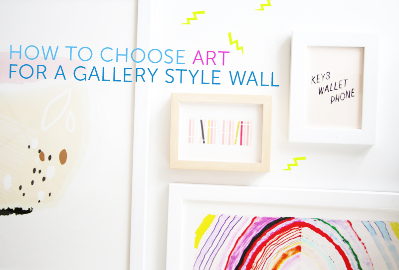How To Choose Art For a Gallery Style Wall — decor8