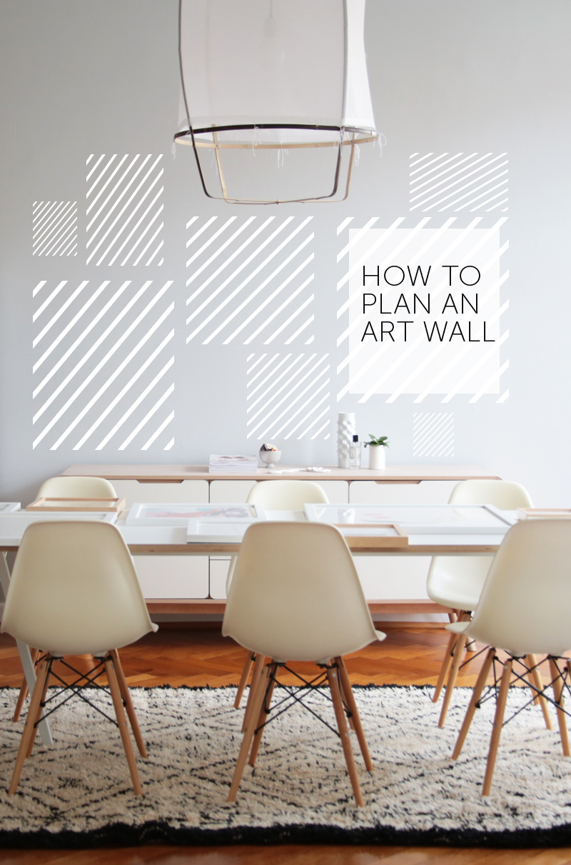 Gallery Wall Planner 8 easy steps for planning a gallery style art wall — decor8