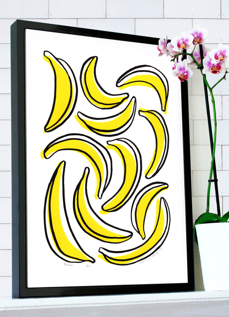 Bananas_in_black_frame_with_orchid_1024x1024