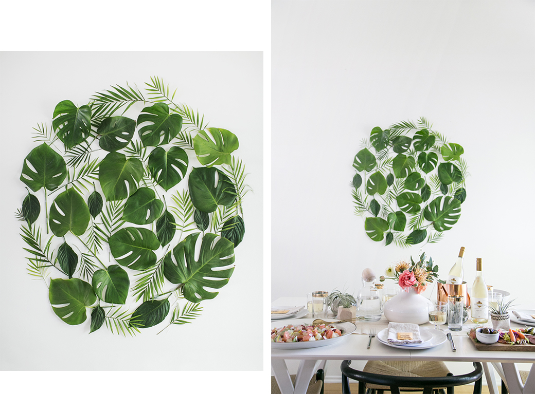 Trends 8 Leaves To Love Tropical Leaf Decor Ideas Decor8 Tropical leaves decorations green artificial plastic green palm tree leaf. decor8