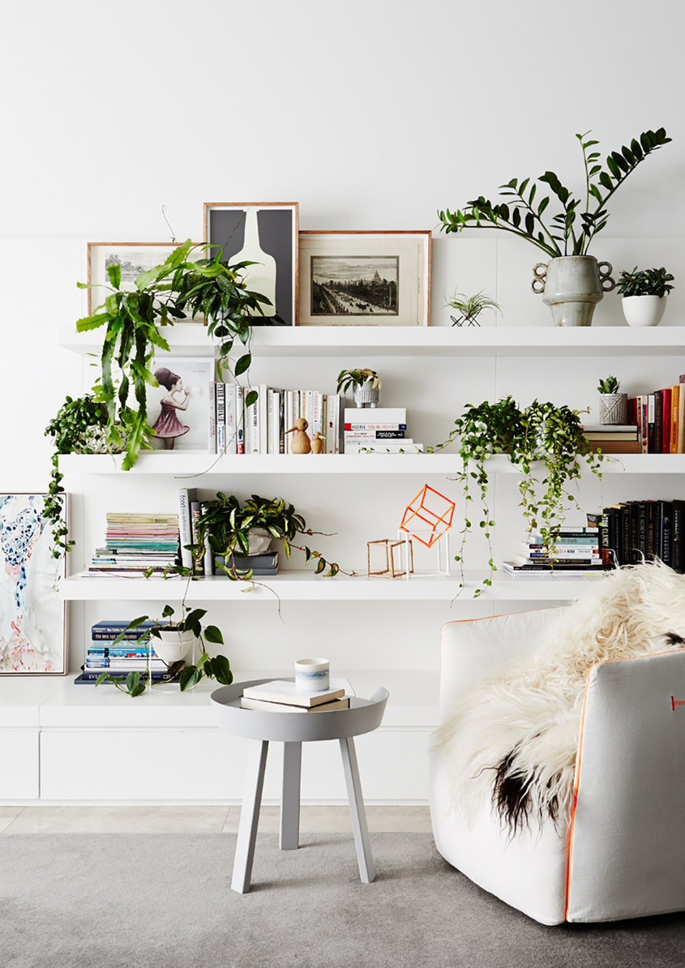 8 Stylish Ways To Decorate + Live With Plants — decor8
