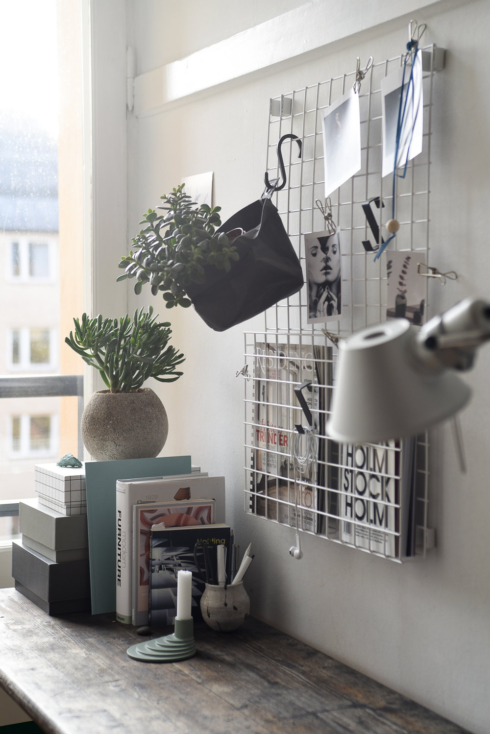 Every Day Swedish Design In The Home Grid Storage + Ypperlig Candle  Holder