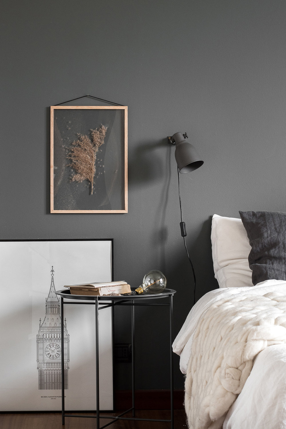 How to style your walls with transparent frames decor8 - Interiors by design picture frames ...
