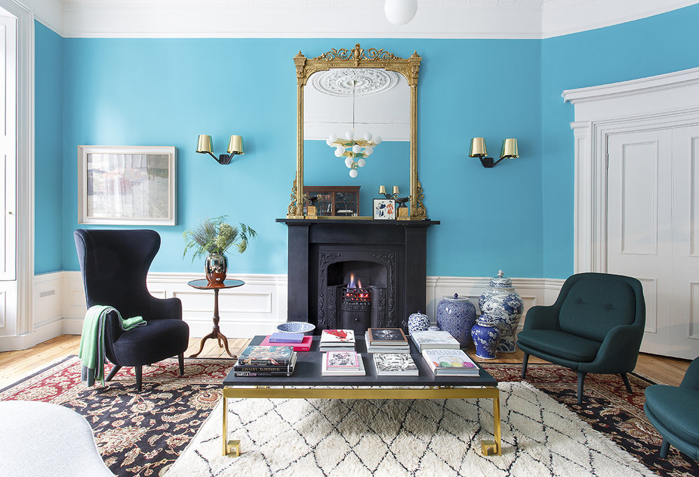 Tour This Colorfulful Georgian Home In Edinburgh on cattledogs, Photography Douglas Gibb