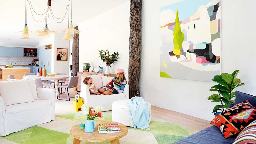 Fashion Designer's Quirky Colorful Home