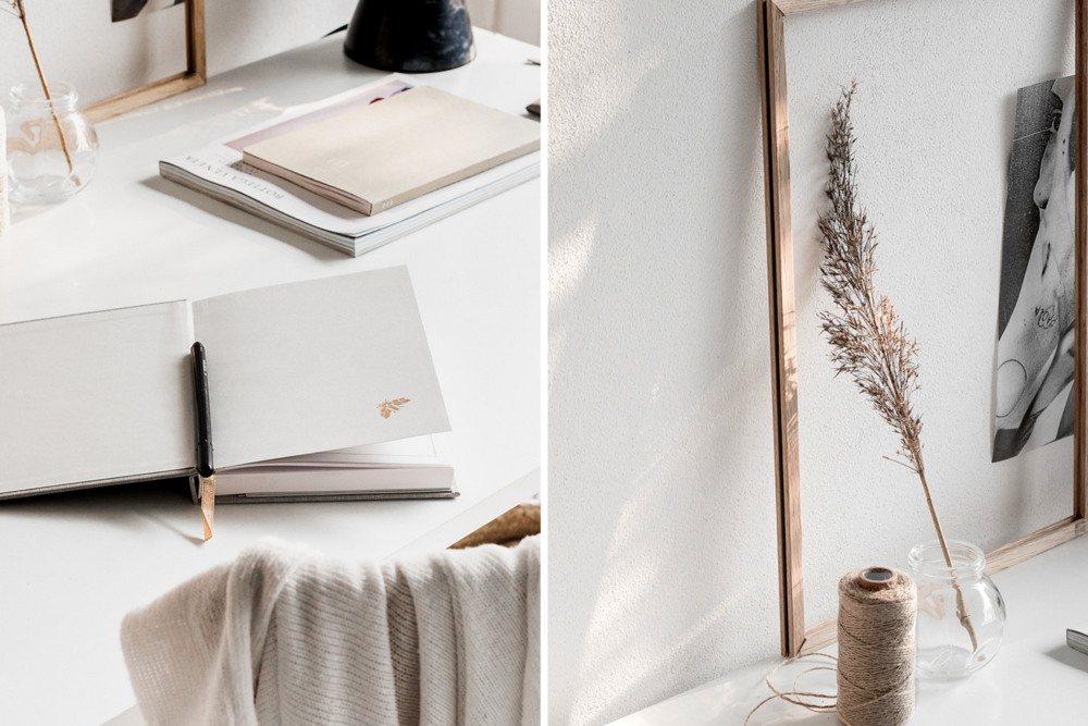 5 Ways To Create a Mindful, Minimalist Work Space on cattledogs