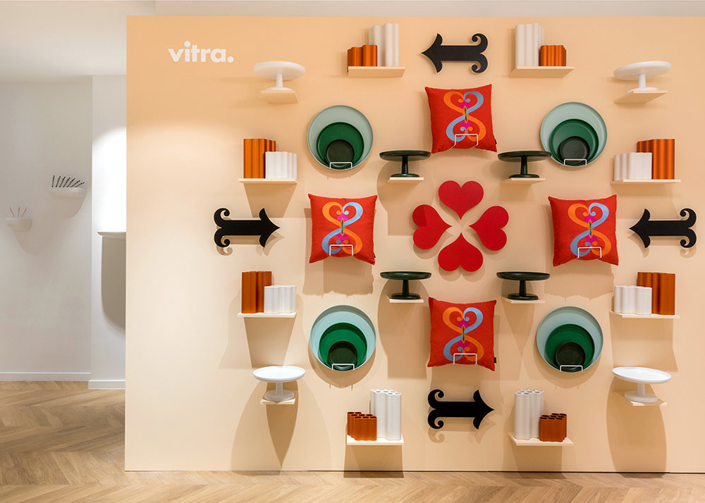 Vitra Accessories Collection Spring Summer 2018 Showroom Paris Installation Maison Objet January 2018