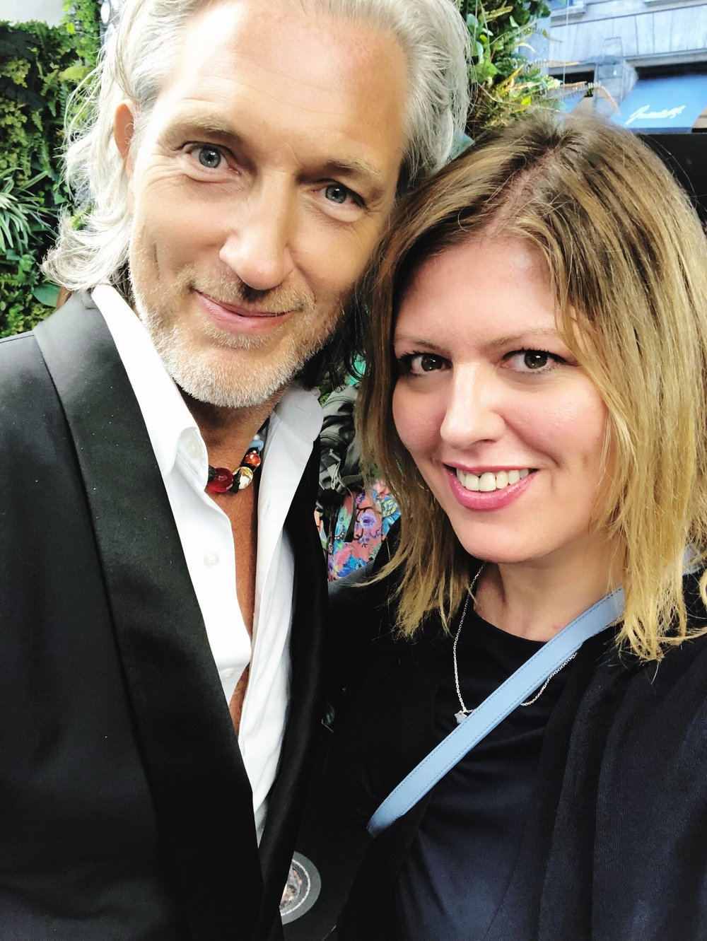 Marcel Wanders and Holly Becker